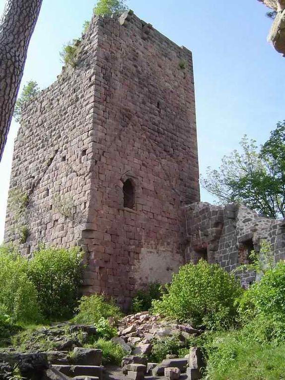 Diaporama château de LANDSBERG à Heiligenstein