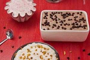 Crème glacée aux trois parfums