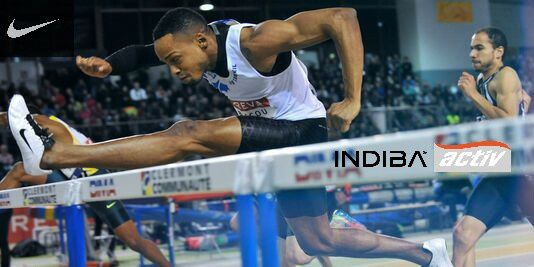 Dimitri Bascou, ambassadeur INDIBA : Record de France 60m haies
