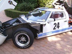 Dans l'ordre : Martin TTM GM2 (x2), Marcadier GT40 (x2), Sefap PF5