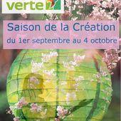 Saison de la création 2019 : du 1er septembre au 4 octobre - Ensemble paroissial du Courbet