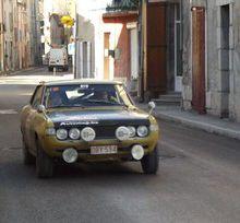 Rallye de Monté Carlo Historique , de passage dans le Moyen Verdon
