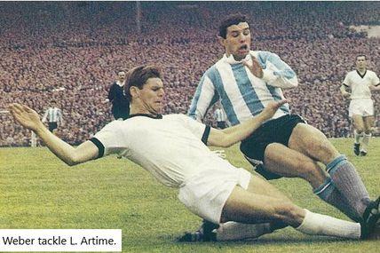 Coupe du Monde 1966 en Angleterre, Groupe B: Allemagne de l'ouest - Argentine