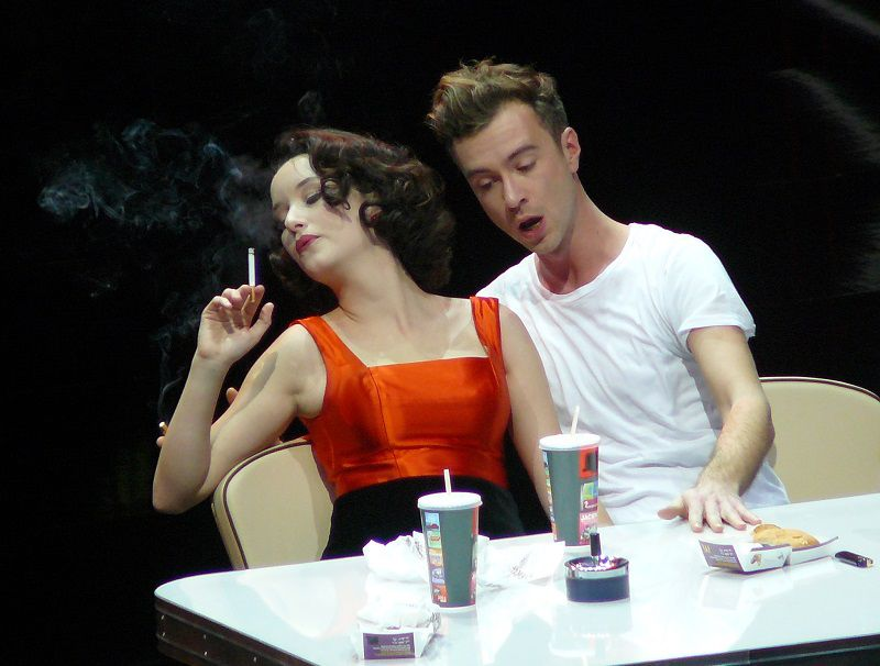 Anna Prohaska et Florian Hoffmann (The Rake's progress - 2010)