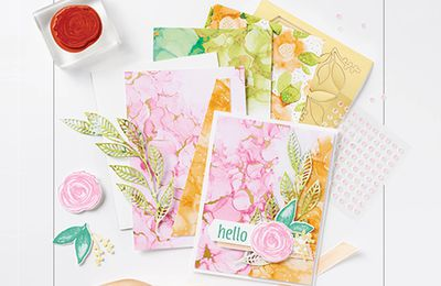 [Stampin'Up!] charte des couleurs