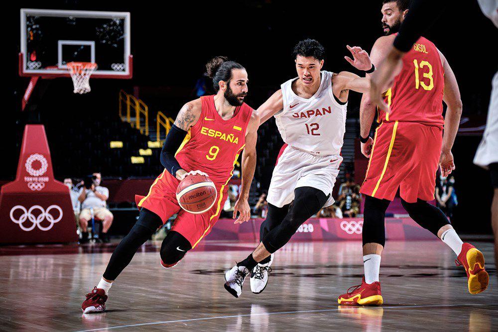 Jeux Olympiques : Ricky Rubio et l'Espagne viennent à bout du Japon de Rui Hachimura et Yuta Watanabe
