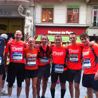 Mon 1er marathon au Run in Lyon en 3h14