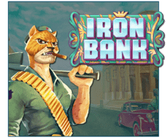 machine a sous Iron Bank logiciel Relax Gaming