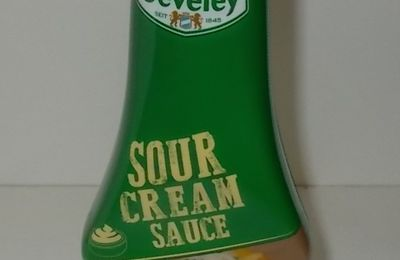 Develey Sour Cream Sauce mit Schnittlauch