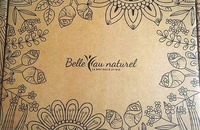 "La box la plus belle et la plus naturelle c'est celle de ""belle au naturel"""