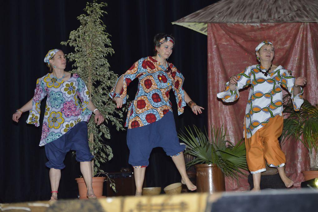 Exhibition danses et musique africaines  avec Vieux, Adama, Sibéri et nous !!
