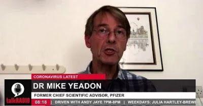 Selon l'ancien directeur de recherche Pr. Mike #Yeadon de #Pfizer, nous sommes au cœur de la troisième #guerre mondiale