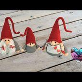 Gnome de Noël Amigurumi crochet (Maman) / Christmas mother Gnome (mother) (english subtitles)