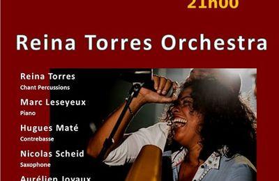 DERNIERE MINUTE: REINA TORRES AU COTTON CLUB A ROYAN LE 28/04/2018