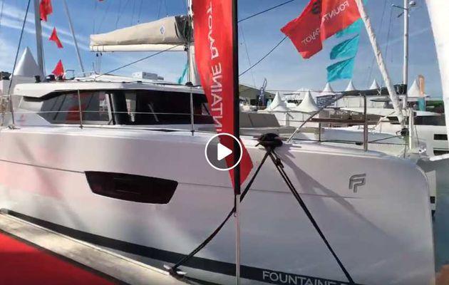 Directs du Grand Pavois – Fountaine-Pajot expose 4 catamarans sur les pontons de La Rochelle