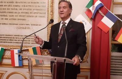 DINER 12 octobre : Bilan de la présidence portugaise du Conseil de l'UE avec S.E. Dr Jorge TORRES-PEREIRA  Ambassadeur du Portugal en France