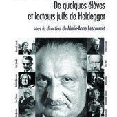 Heidegger et Marcuse - Cairn.info