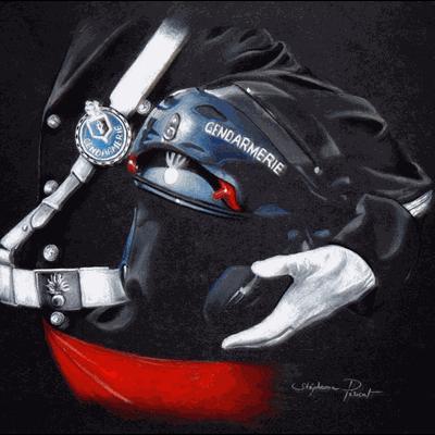 Formation des motards de la Gendarmerie
