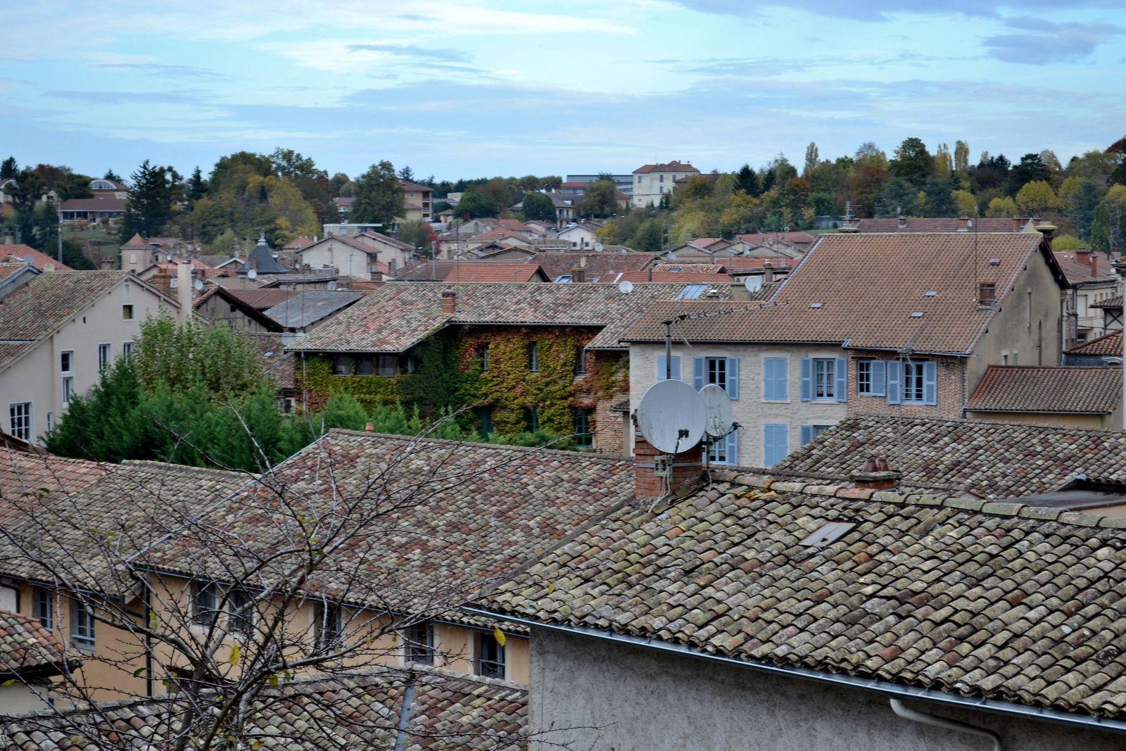 Petite balade à Châtillon-sur-Chalaronne dans l'Ain!