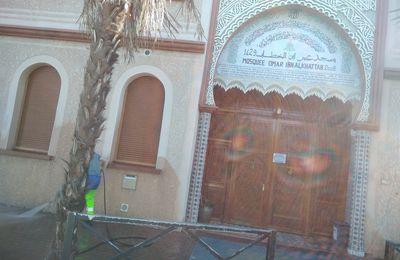 Tarbes :: Des tags racistes retrouvés sur la mosquée de Tarbes / Pyrénées Infos
