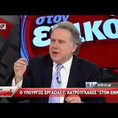 """Ο Γιώργος Κατρούγκαλος """"στον ενικό"""" με τον Νίκο Χατζηνικολάου - Γ΄μέρος"""
