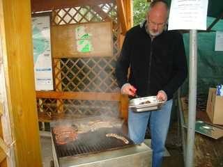 La buvette vide grenier foire aux petits cochons ruaux 88370