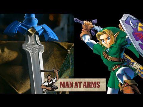 Link's Master Sword (Legend of Zelda) - MAN AT ARMS
