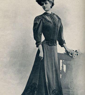 Vetement annee 1900 femme