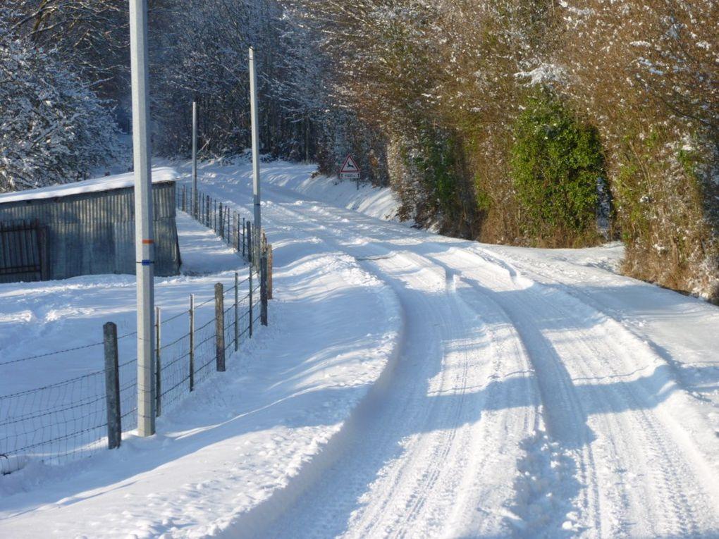 Quelques photos de Neige au Plantis en 2010 réalisées par Gilles LECOUSTEY et Olivier DADURE