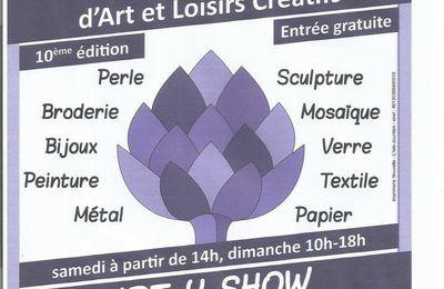 ART-Y-SHOW à l'honneur pour sa 10 ème édition...