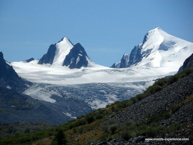 Visite d'un glacier