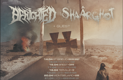 BENIGHTED annonce sa tournée avec SHAARGHOT, notamment au Hellfest Warm Up
