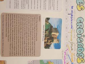 Exemple de carnets réalisés par les enfants/adolescents