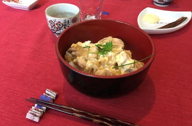 Repas dégustation à l'espace Wakaba #4 - Oyakodon