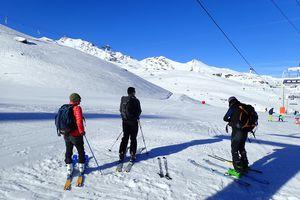 Pointe Renod - Sommet E, par le Glacier de Chavière, depuis Val Thorens 1/2
