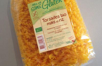 """Test: les Torsades Bio Maïs et Riz de """"Ma vie sans Gluten"""" - Vivre sans Gluten"""