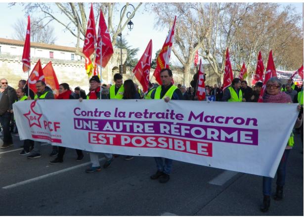 29 janvier: 4 000 à Avignon contre la retraite à points .