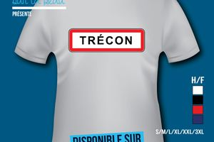 T-shirt: France - Champagne-Ardenne - Trécon​.