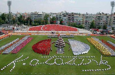 Rouge comme le drapeau turc , 19 mai jour férié en Turquie