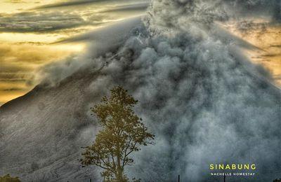 Actualité du Santiaguito, du Fuego, du Klyuchevskoy et du Sinabung.
