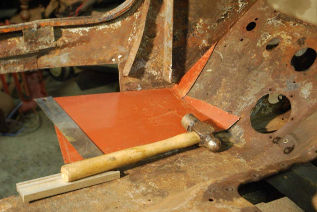crédit photos : alain chaussade - réparation carrosserie bas de caisse plancher