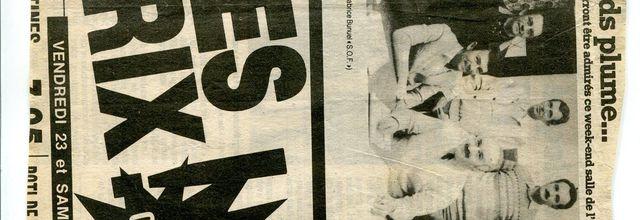 1984 Photo de l'Assemblée Générale de la section Sport Boules de l'U.S.S.C.C.