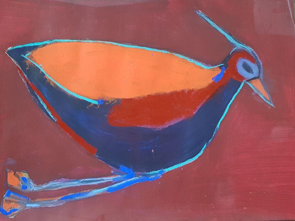 Mes oiseaux - Prenez un oiseau, trempez-le dans la couleur, il en sortira plein de ciels et de terres, de forêts et de légendes.
