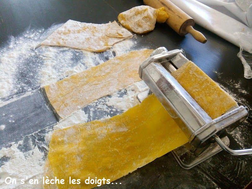 pâtes à raviolis