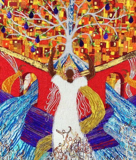 N° 2114 ) À LILLE, l'exposition «Apocalypse : révélation» illumine Notre-Dame de la Treille.