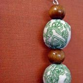 Fabric covered beads: a tutorial
