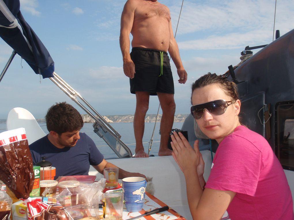 les calanques Marseille, Cassis, Frioul