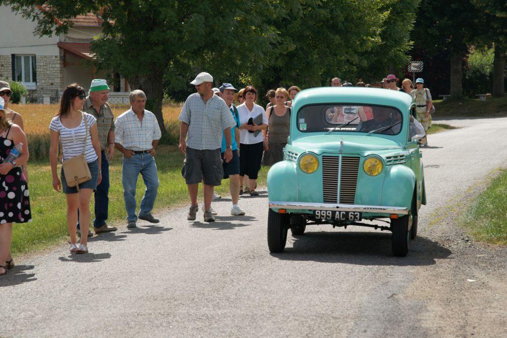 Balade champêtre et animée à Pruns (Bussières et Pruns), dimanche 26 juin 2011