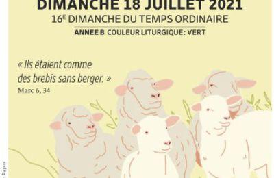 Paroisses de Genlis et Saint Just de Bretenières - Semaine du 17 au 25 juillet 2021 -  16ème dimanche ordinaire B