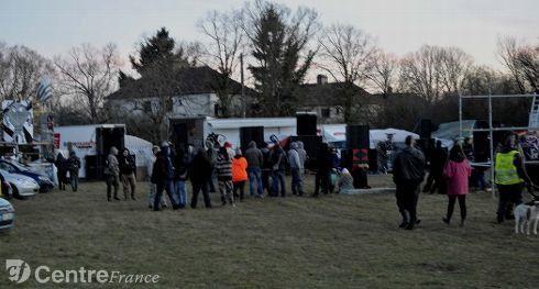 MAJ: Manifestation non autorisée à l'ancien site du CNRS de Garchy